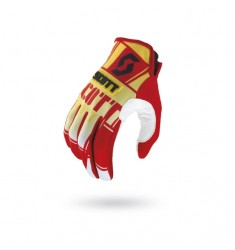 GUANTES SCOTT 350 SQUADRON RED/YELLOW