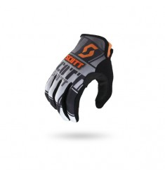 GUANTES SCOTT 350 SQUADRON BLACK/ORANGE