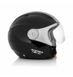 CASCO ACERBIS XJET STRIPES NEGRO