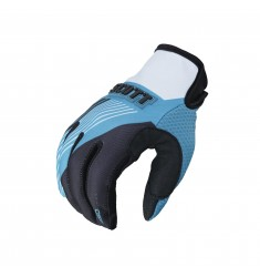 GUANTES SCOTT 350 TRACK BLACK/WHITE/BLUE