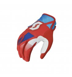 GUANTES SCOTT 350 RACE RED/BLUE