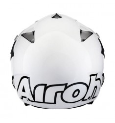CASCO AIROH EVERGREEN BLANCO
