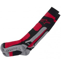 CALCETIN ALPINESTARS TECH COOLMAX ROJOS