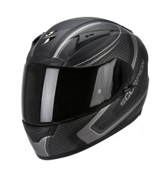 CASCO SCORPION EXO-2000 CARB NEGRO MATE