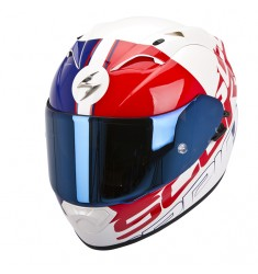CASCO SCORPION EXO-1200 QUARTERBACK BLANCO