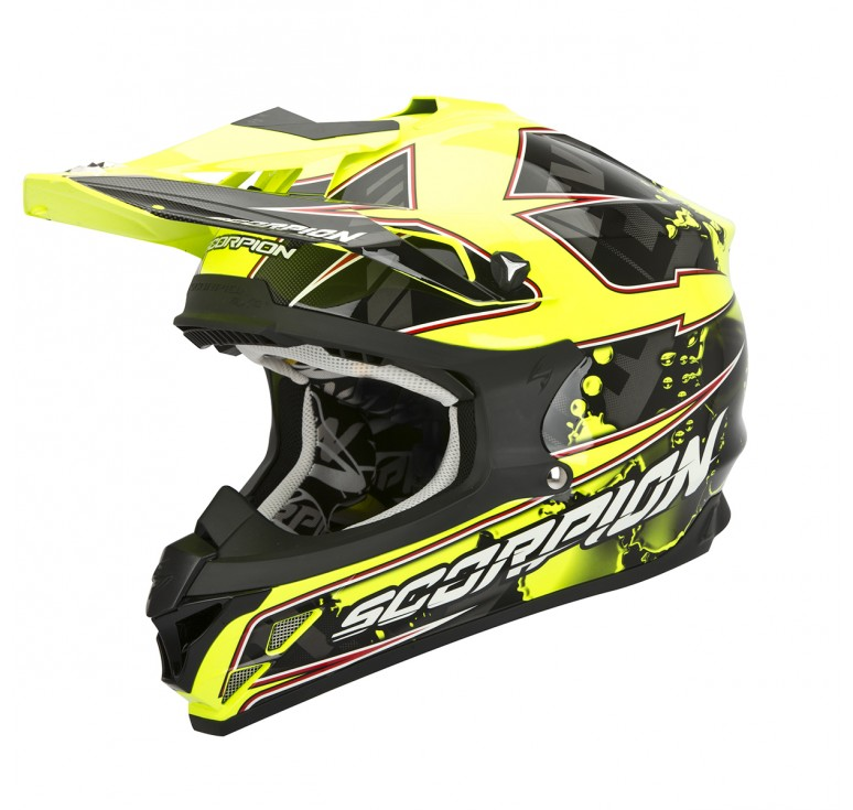 casco scorpion vx 15 evo air magma enemotos. Black Bedroom Furniture Sets. Home Design Ideas
