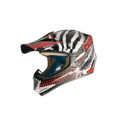 CASCO SHIRO INFANTIL MX-306 ROCKID BLANCO