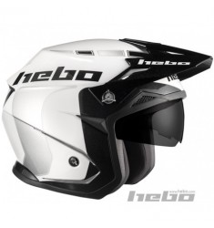 CASCO HEBO ZONE 5 LIKE HC1115 BLANCO
