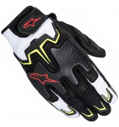 GUANTES ALPINESTARS FIGHTER AIR NG/BL/AM/RJ