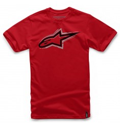 CAMISETA ALPINESTARS SKYWAY ROJA