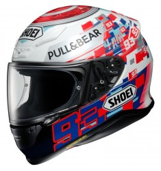 CASCO SHOEI NXR MARQUEZ POWER UP! TC-1