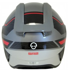 CASCO SCHUBERTH SR2 LIGHTING ROJO