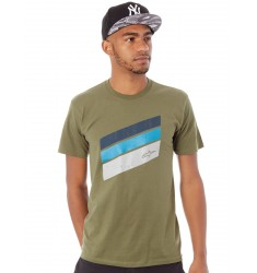 CAMISETA ALPINESTARS BECKTON MILITARY GREEN