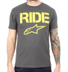 CAMISETA ALPINESTARS RIDE SOLID CHARCOAL