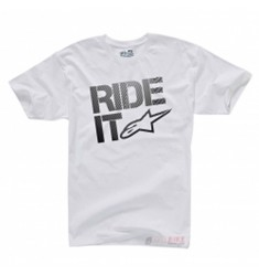 CAMISETA ALPINESTARS RIDE IT BLANCA