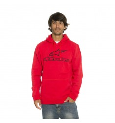 SUDADERA ALPINESTARS ALWAYS ROJA