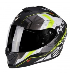 CASCO SCORPION EXO-1400 TRIKA NG/BL/AM NEON