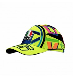 GORRA VR46 REPLICA CASCO