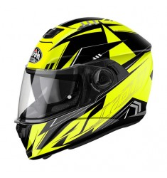 CASCO AIROH STORM BATTLE YELLOW