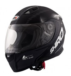 CASCO SHIRO SH881 MOTEGI NEGRO MATE/CARBONO