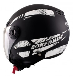 CASCO SHIRO SH-62 OXFORD NEGRO MATE