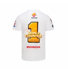 CAMISETA MARC MARQUEZ WORLD CHAMPION 2018