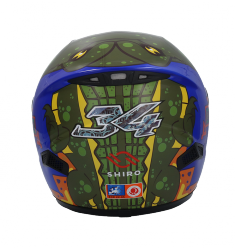 CASCO SHIRO INFANTIL SH829 AFRICA KID
