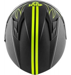 CASCO GIVI 50.6 STOCCARDA SPLINTER NEGRO Y FLUOR