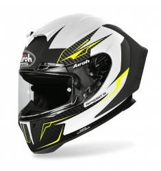 CASCO AIROH GP550 S VENOM WHITE MATT