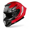 CASCO AIROH GP550 S VENOM RED GLOSS