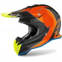 CASCO AIROH TERMINATOR OPEN VISION SHOOT AZURE GLOSS