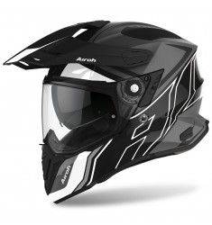 CASCO AIROH COMMANDER DUO BLACK/GLOSS/MATT
