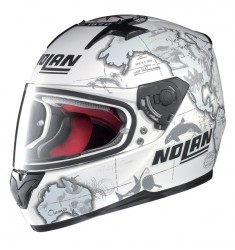 CASCO NOLAN N 64 GEMINI REPLICA CHECA BLANCO